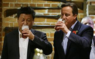 曾推动英中黄金时代 英前首相因游说被调查