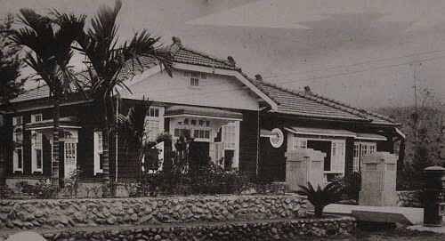 吉野邮便局。 (图片提供:tony)