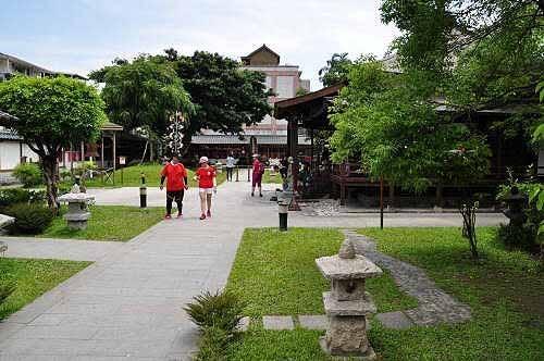 庆修院寺院环境典雅,日式庭园的氛围。 (图片提供:tony)