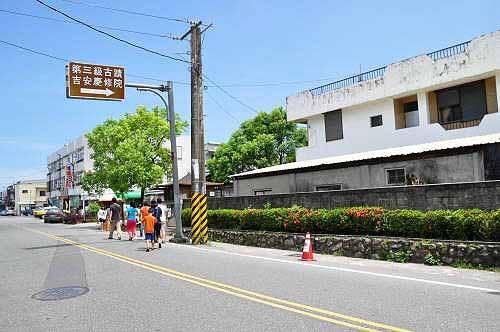 吉安庆修院(国家第三级古迹),位于吉安乡中兴路345-1号。 (图片提供:tony)