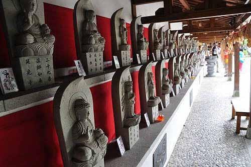 庆修院四国八十八灵场石佛(图片提供:tony)