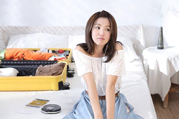 郭書瑤拍攝品冠新歌MV的畫面。(種子提供)