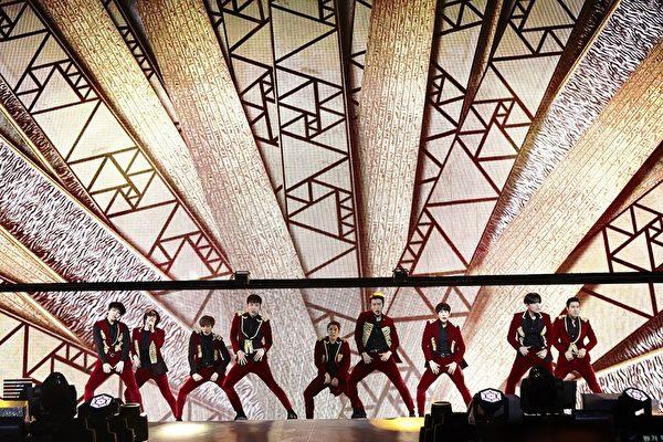SM家族演唱會紀實電影畫面,圖為super junior。(公關提供)