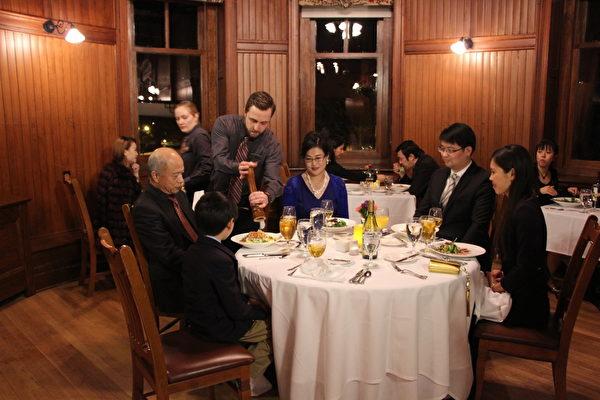 天湖城堡度假庄园餐厅。(Mohonk Mountain House提供)