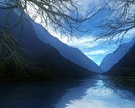 中国江苏的太湖。(公有领域)