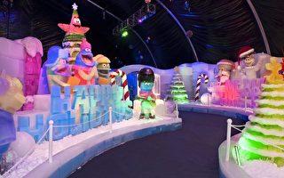 穆迪花園冰雕展本週六登場Galveston變身冬季夢幻島