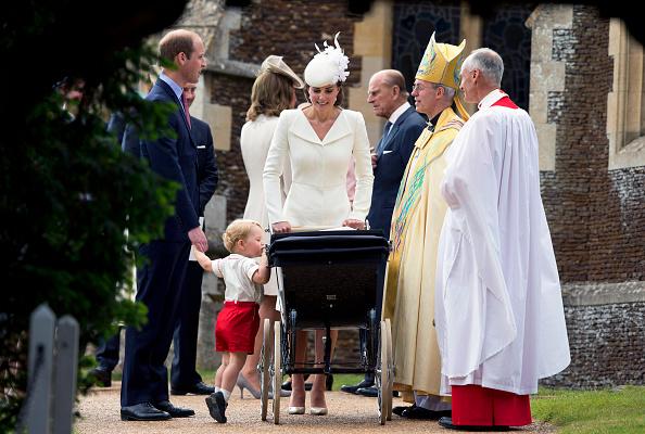 喬治王子和妹妹夏洛特公主相處的很好。(Matt Dunham - WPA Pool/Getty Images)