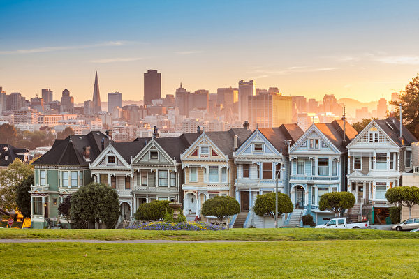 全美大都会中,最有钱10%的人群年薪最高的城市是旧金山。(Fotolia)