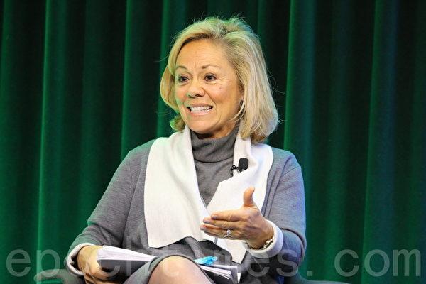 前美國駐聯合國人權理事會大使、人權觀察全球事務總監艾琳•多納霍(Eileen Donahoe)。(蕭桐/大紀元)