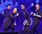 「男人幫」10月31日首度在台北開唱。(寰亞唱片提供)