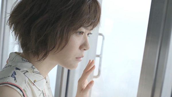 台湾LINE_TV推出网路剧《SECRET MESSAGE》女主角上野树里。(公关提供)
