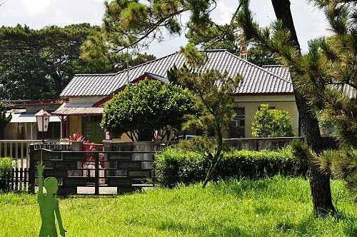 松园别馆邻近的中广花莲台,是日治时代的放送局(广播电台)。 (图片提供:tony)