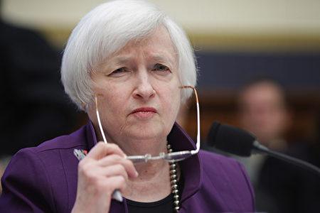 美聯儲主席耶倫(Janet Yellen)週三(11月4日)在華盛頓DC出席眾議院金融服務委員會有關銀行業改革與監管會議時表示,很有可能會在12月議息會議上宣布加息。(Chip Somodevilla/Getty Images)
