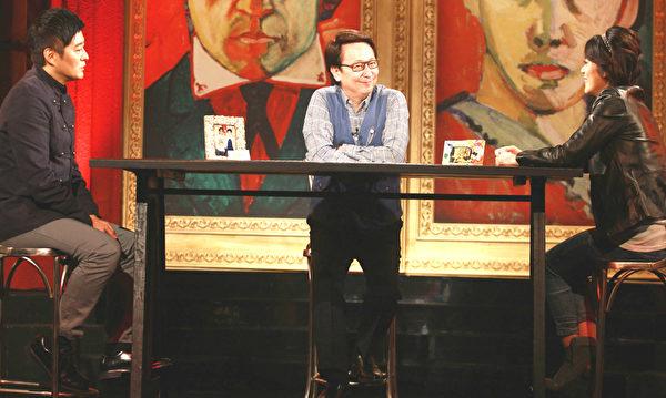 李志希和纪佩伶参加《爱的万物论》录影。(公视提供)
