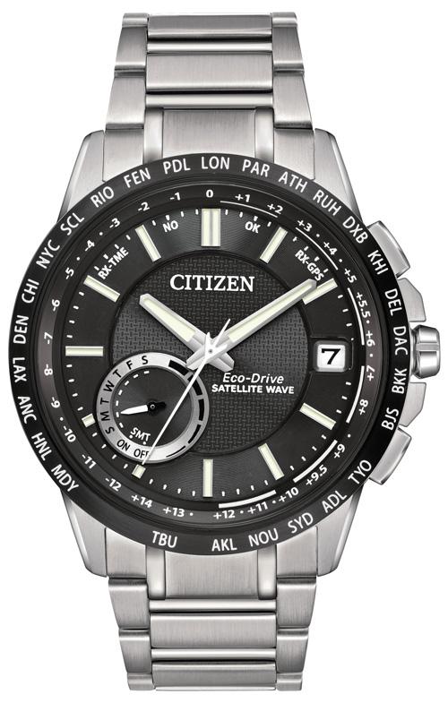 西铁城智能手表。 (Courtesy of Citizen)