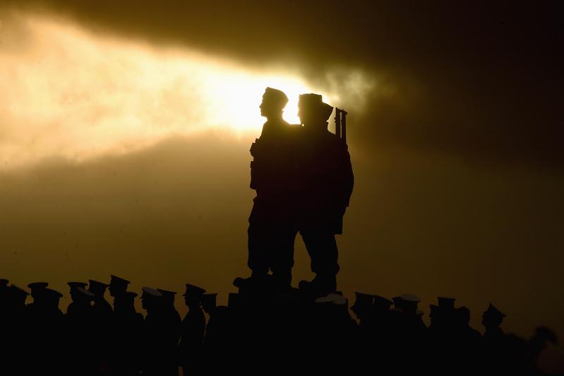 英國紀念陣亡將士紀念日。(Jeff J Mitchell/Getty Image)