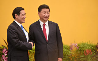 台灣行政院陸委會前副主委林中斌觀察表示,「習馬會」這個決定是由習近平(右)本人拍板定的。(Roslan RAHMAN/AFP)
