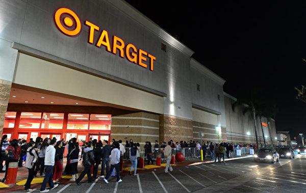 总部位于明尼阿波利斯的Target。(FREDERIC J. BROWN/AFP/Getty Images)
