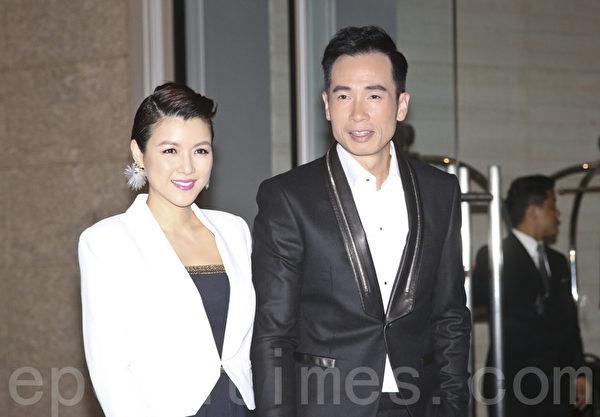 陈茵媺与丈夫陈豪资料照。(余钢/大纪元)