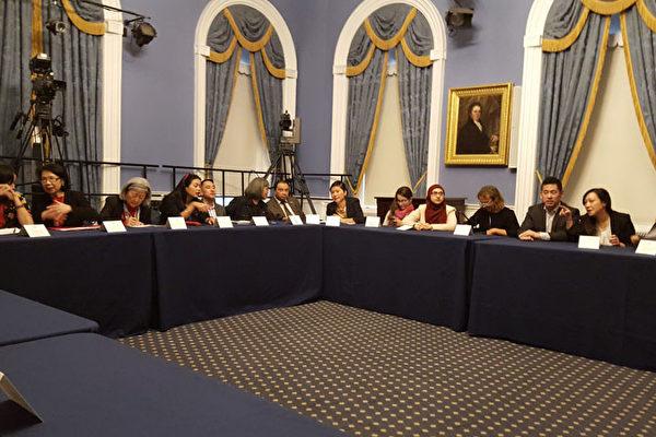 亚美联盟12日拜会市长,呼吁增加对亚裔社区机构拨款。(亚美联盟提供)