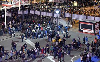 感人 巴黎球迷高唱马赛曲离开遇袭体育场