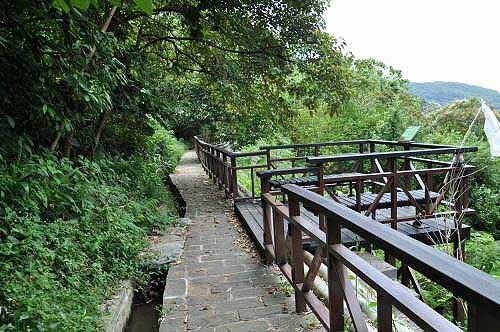 溪山百年古圳步道。 (图片提供:tony)