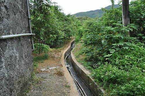从平菁干116电线干走水圳路前往溪山百年古圳步道 (图片提供:tony)