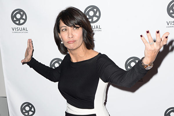 李小龍之教女黛安娜(Diana Lee Inosanto)。(Matt Winkelmeyer/Getty Images)