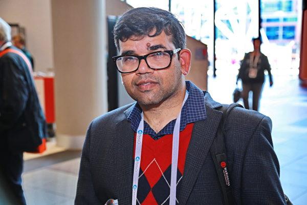 2015年11月15日到19日,國際器官移植協會(TTS)年度會議在澳大利亞墨爾本會展中心舉行。美國明尼蘇達大學醫學專家辛格(Amar Singh)表示,任何人都不會贊同活摘器官這種行為。(史蒂文/大紀元)