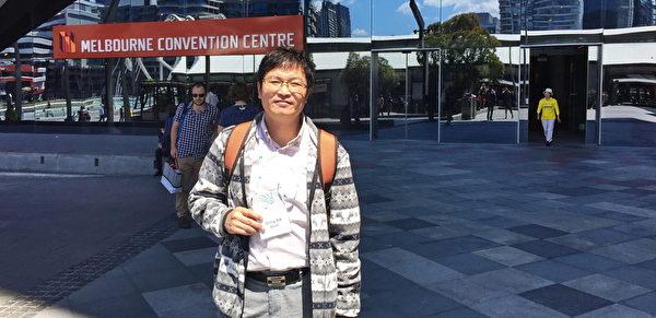 2015年11月15日到19日,國際器官移植協會(TTS)年度會議在澳大利亞墨爾本會展中心舉行。來自韓國的移植教授董(Dong Sik Ham)先生認為,為了錢去活摘別人的器官是絕對不能接受的,此事需要法律來規範。(史蒂文/大紀元)