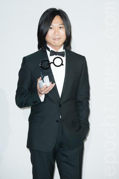 艺人玛莎11月20日在台北出席杂志颁奖典礼。(陈柏州/大纪元)