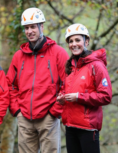 威廉王子和凱特王妃著運動裝的形象與以往大為不同。(Chris Jackson-WPA Pool/Getty Images)