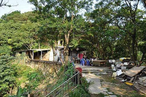观音堂。登山步道就位于庙旁。(图片提供:tony)