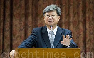 針對明道大學中文系主任論文涉抄襲一事,教育部長吳思華22日表示,會依既定程序去調查。(陳柏州/大紀元)