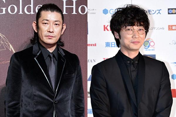 永濑正敏(左)与绫野刚演技获肯定。(陈柏州、Getty Images/大纪元合成)
