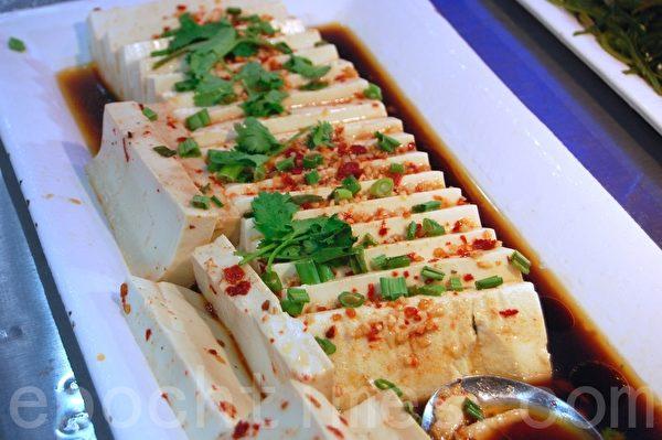 日本嫩豆腐。(攝影:安吉/大紀元)