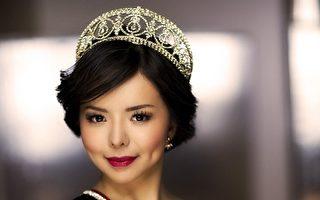 2015年5月,林耶凡摘下第65届世界小姐加拿大赛区冠军桂冠。(林耶凡脸书)