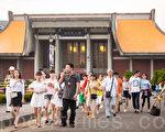 交通部長陳建宇30日表示,為維護台灣觀光品質與安全,已研擬「中客來台觀光相關輔導及管理措施」。(陳柏州/大紀元)