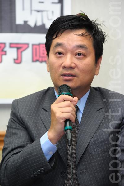 台北律師公會常務理事薛欽峰資料照。(大紀元)