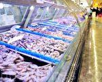 全球许多连锁超市供应的冰鲜虾很有可能出自泰国奴工之手。(大纪元资料库)