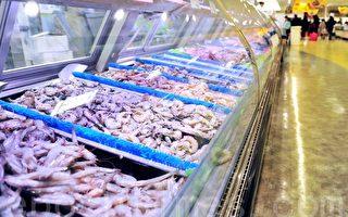 全球許多連鎖超市供應的冰鮮蝦很有可能出自泰國奴工之手。(大紀元資料庫)