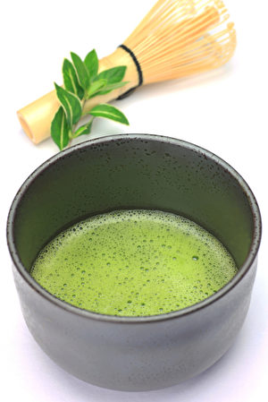 powdered green tea