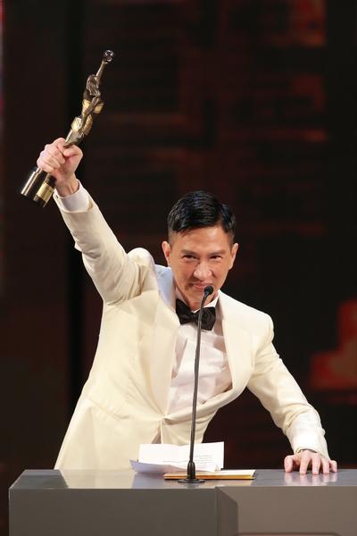 张家辉荣获第33届香港金像奖最佳男主角。(爱斯达整合提供)