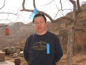 2005年12月13日,高智晟发表公开退党声明。图为高智晟(大纪元图片)