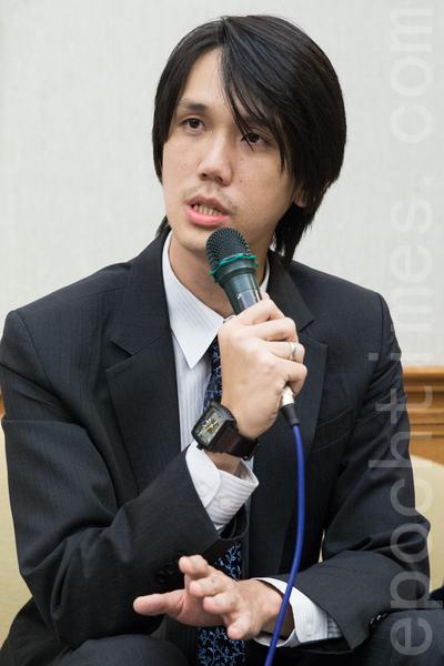 台北律師公會人權委員會主委王龍寬資料照。(陳柏州/大紀元)
