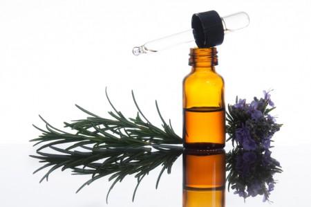 迷迭香精油可以緩解疼痛並增強注意力。(Fotolia)