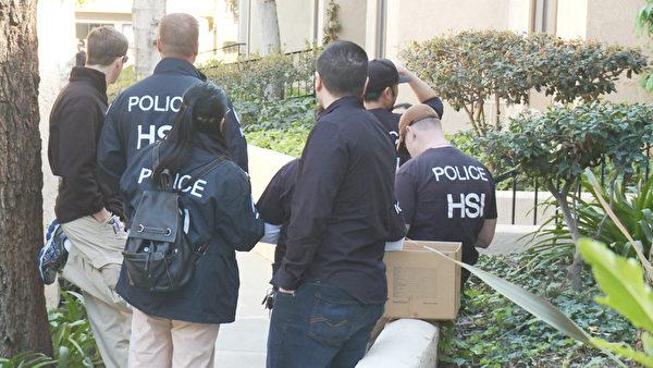 美國聯邦執法部門3月3日突擊搜查了南加州的近40家月子中心,圖為被搜查的月子中心之一,位於羅蘭崗的Pheasant Ridge豪華公寓。(鄭浩/大紀元)