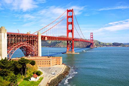金門大橋和堡點,舊金山,美國(fotolia)