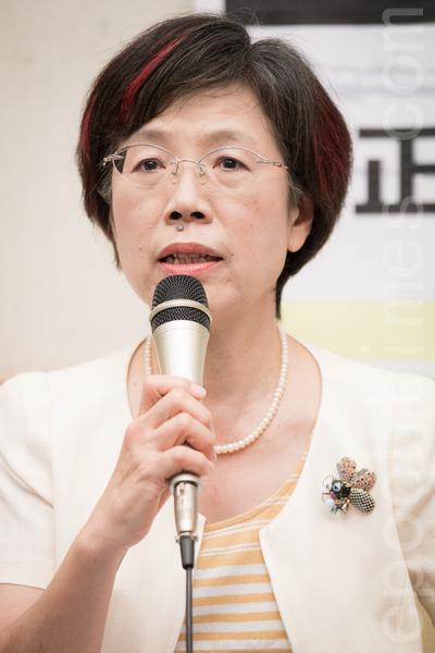 民進黨立委、前台北律師公會理事長尤美女資料照。(陳柏州/大紀元)