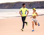 最新研究认为,每天小跑2公里,就可以收到跑步带来的最大健身功效。(Fotolia)